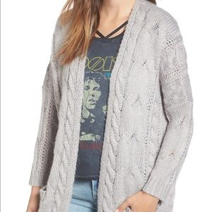 BP Cable Knit Cardigan